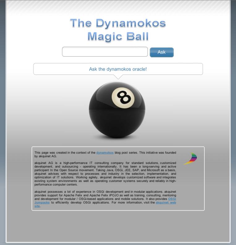 Dynamokos Web Client
