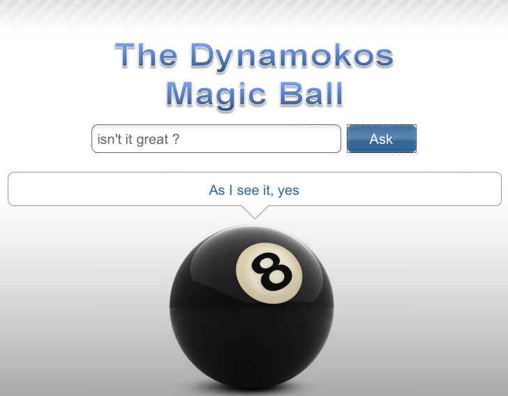 The Dynamokos Oracle UI