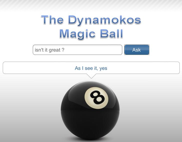 The Dynamokos Oracle UI