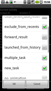 Android Activities and Tasks series – Intent flags