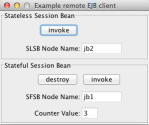 Remote JBoss AS7 - EJB client application