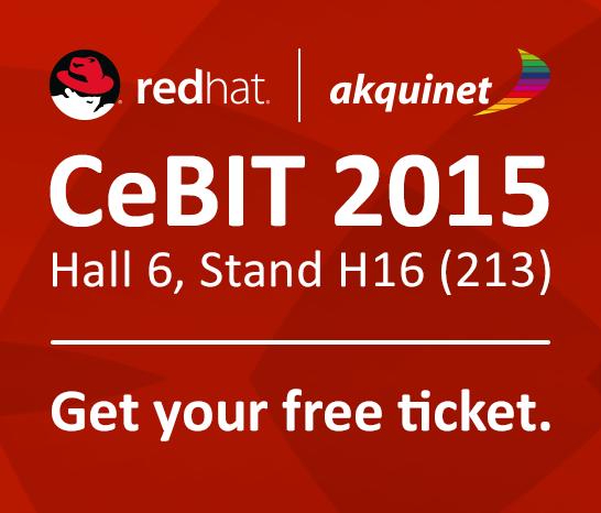 CeBIT 2015, Hall 6, Stand H16 (213)